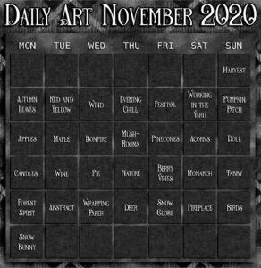 Daily Art November
