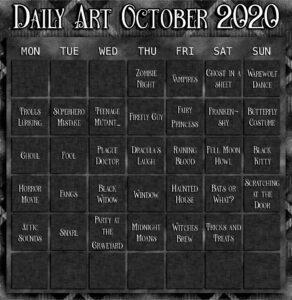 Daily Art October