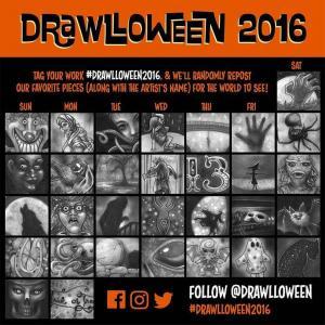 drawlloween2016