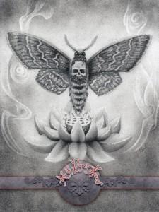 Skull Moth Flower
